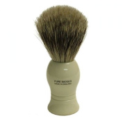 Pure Badger Shaving Brush Faux Ivory Handle