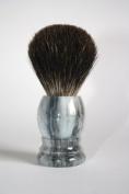 Shaving Brush Grey marble - Grey Badger Hair