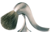 eShave Nickel Fine Pipe Brush with Stand