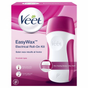 Veet 50ml Easy Wax Electrical Roll On Kit Legs and Arms