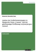 """Analyse Der Gedachtnisstrategien in Marguerite Duras """"L'amant"""" Und Der Gleichnamigen Verfilmung Von Jean-Jacques Annaud [GER]"""
