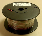 20AWG Red & Black Bonded Speaker Wire 30m Roll
