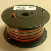 12AWG Red & Black Bonded Copper Speaker Wire 7.6m Roll