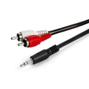 RiteAV 1.8m 3.5mm to Stereo RCA Male Cable