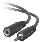 3.5mm Stereo Male to Female Extension Cable 23m