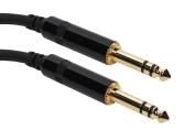 Elite Core SuperFlex Gold SFP-115TT 0.6cm TRS to 0.6cm TRS Patch Cable, 4.6m