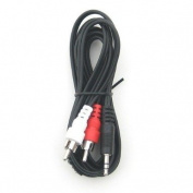 RiteAV - 3.5mm to Stereo RCA Male Cable - 7.6m