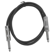 Seismic Audio SASTSX-2Blue 10cm Stage and Studio Patch Cable