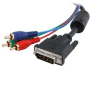 Cables Unlimited PCM-2289-06 DVI-I to RGB Component Video Cable