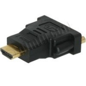 HDMI Male to Dual Link DVI-D Female Moulded Adapter