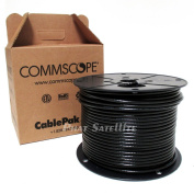 COMMSCOPE 150m RG6 COAXIAL CABLE PROFESSIONAL PULLBOX BLACK