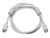 1.8m 28AWG High Speed HDMI® Cable w/Ferrite Cores - White [Electronics]