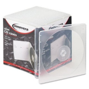 Innovera : Slim CD Cases, Clear, 25 Cases per Pack -:- Sold as 2 Packs of - 25 - / - Total of 50 Each