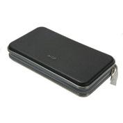 80 Disc CD/VCD/DVD Case Storage Organiser Wallet Holder Album Box Black Colour
