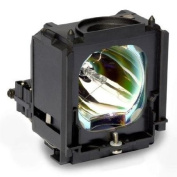 Electrified Replacement Lamp with Housing for HL-R4677W HLR4677W for Samsung Televisions - 150 Day Electrified Warranty