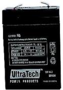 Ultratech Power Products Genuine UT640 6V 4Ah SLA Battery