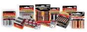 """""""9v"""" Alkaline Batteries (Expocell) 2-pack, 4 Packs, 8 Count"""