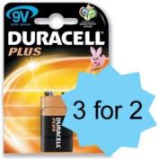 Duracell Plus Mn1604 Battery Alkaline 9V - 81275361