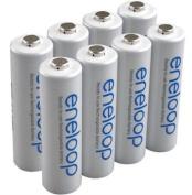 Sanyo Eneloop 8 Pack AA NiMH 2000Mah Battery