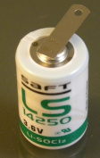 Saft LS 14250 ST 1/2 AA 3.6V Lithium with Tabs