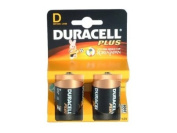 Duracell Batteries D Size Battery MN1300 - 2 Pack on Generic Blister Card