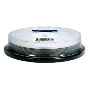 10 Pack Optical Quantum 6X 50GB BD-R DL Blu-Ray Blank Disc - Silver Top (MPN