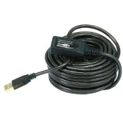 TruDx - 32ft 10M USB 2.0 A Male to A Female Active Extension / Repeater Cable