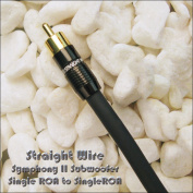 Straight Wire Symphony II Subwoofer Single RCA to Single RCA 4.0 Metre Interconnect