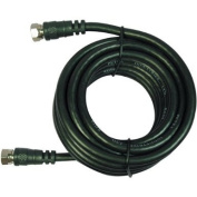 Petra 205-020BK/ELR AA-139 RG59 F-to-F Screw-On Cables