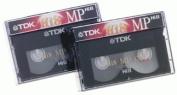 2-pack 120min Hi 8 Video Tape