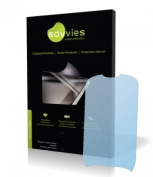 Savvies Crystalclear Screen Protector for LG Electronics Cookie Style, Protective Film, 100% fits, Display Protection Film