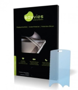 Savvies Crystalclear Screen Protector for LG Electronics U400, Protective Film, 100% fits, Display Protection Film