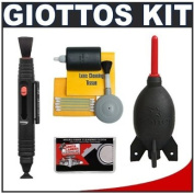 Giottos Rocket-Air Blower Professional AA1900 Large + Digital SLR Camera & Lens Cleaning Kit for Nikon D3s, D3x, D3, D7000, D300s, D300, D5000, D3100, D3000, D90, D60 & D40