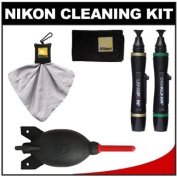 Nikon Lens and Digital SLR Camera Cleaning Kit with Giottos AA1900 Rocket Air Blower, Cloth, Blower and LensPen Pro Kit Cleaner