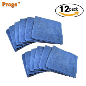Progo Ultra Absorbent Microfiber Cleaning Cloths for LCD/LED TV, Laptop Computer Screen, iPhone, iPad and more.