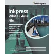 Inkpress White Gloss Film