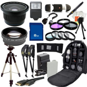 Outdoor Ultimate Accessory Package for the Canon EOS Rebel T3i, T4i, T5i Digital SLR Camera