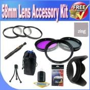 58mm Lens Accessory Saver Bundle