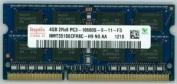 Hynix 4GB PC3-10600 DDR3 1333MHz non-ECC Unbuffered CL9 204-Pin SoDimm HMT351S6CFR8C-H9