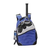 Single Racket Sport 39cm Laptop Computer Backpack Bag- BLUE