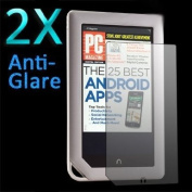 GMYLE® 2X Anti-Glare LCD Sreen Protector Shield Flim Guard High-definition Crystal Clear for Barnes & Noble Nook Colour & Nook Tablet
