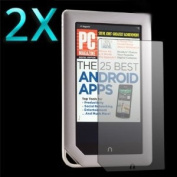 2X GMYLE (TM) LCD Sreen Protector High-definition Crystal Clear for Barnes & Noble Nook Colour & Nook Tablet