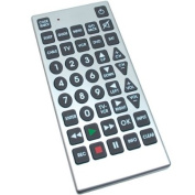 Jumbo Universal Remote Control for Low Vision