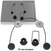 80cm - 140cm Bytecc BT-2355 LED Monitor/TV Picture-Style Wall Mount (Black) - Hang Your TV On The Wall Like A Photo Frame!