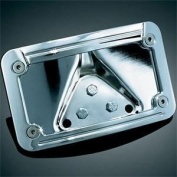 Kuryakyn 3138 Lighted Laydown Curved Licence Plate Frame and Mount