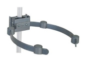 Video Mount Products - PIPE/CEILING MAST ELECTRONIC COMPONENT HOLDER-BLACK