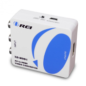 Orei XD-M901 Multi-System Digital PAL to NTSC RCA to HDMI Video Converter Up to 1080p Upscaling