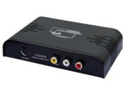Orei XD-901 Multi-System Digital PAL to NTSC Analogue (Composite or S-video) to HDMI Video Converter - Up to 1080p Upscaling - Superior Quality - Dual Voltage