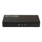 CVBS or S-Video and R/L to HDMI Converter