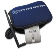 Alfa U-Bag blue neoprene carry case/holder For the AWUS036H, AWUS036NH, AWUS051NH, WUS036NHA, WUS036NHR and other Devices